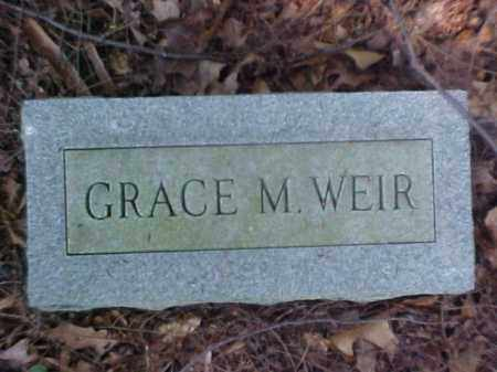 WEIR, GRACE M. - Meigs County, Ohio | GRACE M. WEIR - Ohio Gravestone Photos