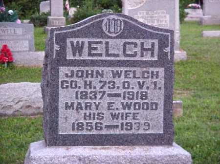 WELCH, MARY E. - Meigs County, Ohio | MARY E. WELCH - Ohio Gravestone Photos