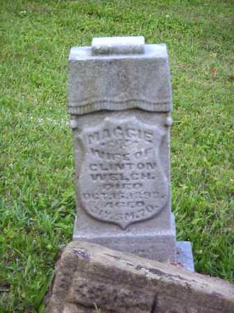 WELCH, MAGGIE - Meigs County, Ohio | MAGGIE WELCH - Ohio Gravestone Photos
