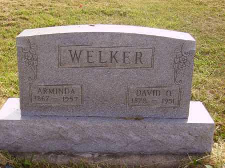 WELKER, ARMINDA - Meigs County, Ohio | ARMINDA WELKER - Ohio Gravestone Photos