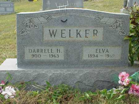 WELKER, ELVA - Meigs County, Ohio | ELVA WELKER - Ohio Gravestone Photos