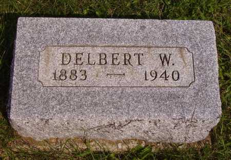 WELKER, DELBERT - Meigs County, Ohio | DELBERT WELKER - Ohio Gravestone Photos