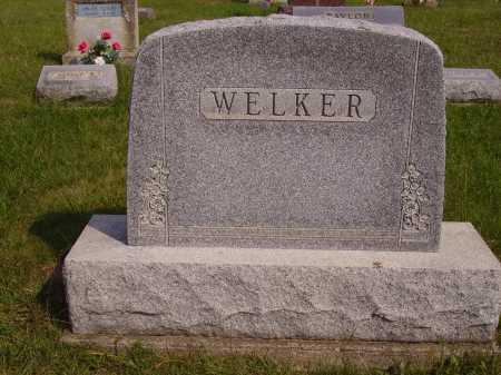 WELKER, FAMILY MONUMENT - Meigs County, Ohio | FAMILY MONUMENT WELKER - Ohio Gravestone Photos