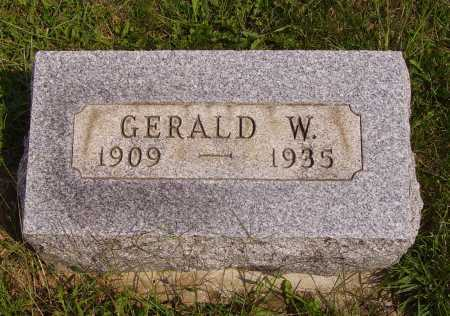 WELKER, GERALD W. - Meigs County, Ohio | GERALD W. WELKER - Ohio Gravestone Photos