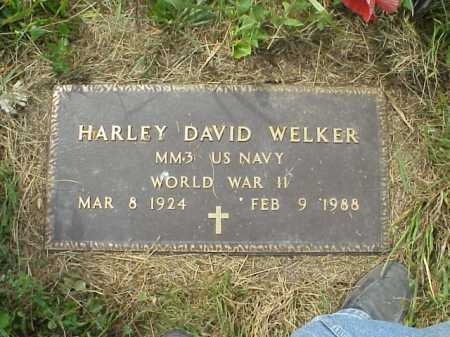 WELKER, HARLEY DAVID - Meigs County, Ohio | HARLEY DAVID WELKER - Ohio Gravestone Photos