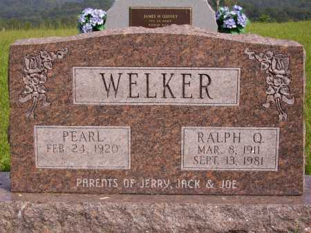 WELKER, PERAL - Meigs County, Ohio | PERAL WELKER - Ohio Gravestone Photos
