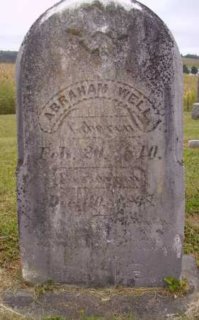 WELL, ABRAHAM - Meigs County, Ohio   ABRAHAM WELL - Ohio Gravestone Photos