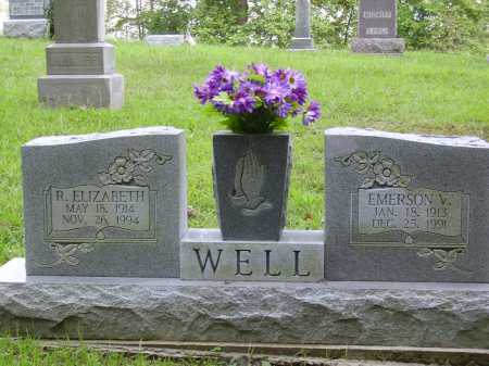 WELL, EMERSON V. - Meigs County, Ohio | EMERSON V. WELL - Ohio Gravestone Photos