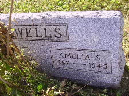 SAUNDERS WELLS, AMELIA S. - Meigs County, Ohio | AMELIA S. SAUNDERS WELLS - Ohio Gravestone Photos