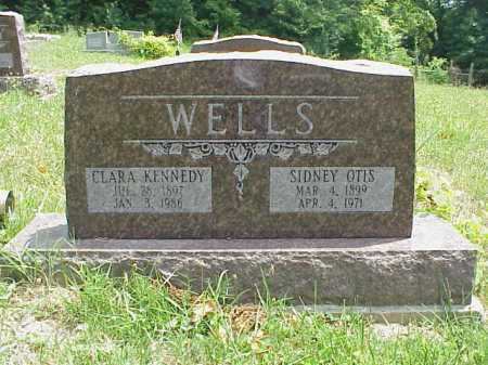 KENNEDY WELLS, CLARA - Meigs County, Ohio | CLARA KENNEDY WELLS - Ohio Gravestone Photos
