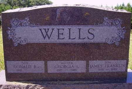 WELLS, JAMES FRANKLIN - Meigs County, Ohio | JAMES FRANKLIN WELLS - Ohio Gravestone Photos