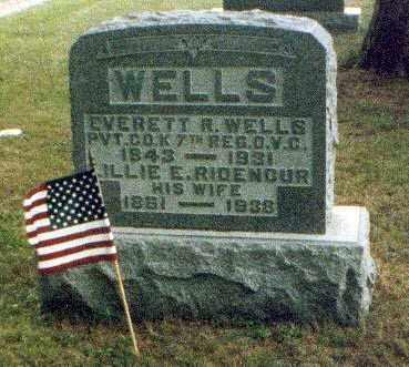 WELLS, LILLIE - Meigs County, Ohio | LILLIE WELLS - Ohio Gravestone Photos