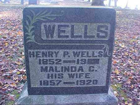 WELLS, HENRY P. - Meigs County, Ohio | HENRY P. WELLS - Ohio Gravestone Photos