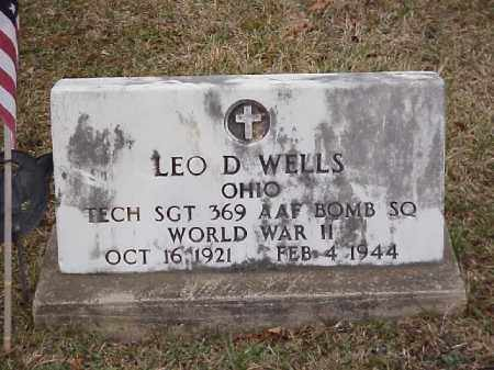 WELLS, LEO D. - Meigs County, Ohio | LEO D. WELLS - Ohio Gravestone Photos