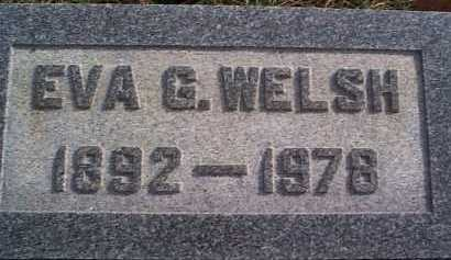 WELSH, EVA - Meigs County, Ohio | EVA WELSH - Ohio Gravestone Photos