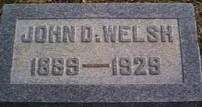 WELSH, JOHN DOUGLAS - Meigs County, Ohio | JOHN DOUGLAS WELSH - Ohio Gravestone Photos