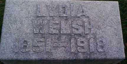 WELSH, LYDIA MARGARET - Meigs County, Ohio   LYDIA MARGARET WELSH - Ohio Gravestone Photos