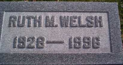 WELSH, RUTH M. - Meigs County, Ohio | RUTH M. WELSH - Ohio Gravestone Photos
