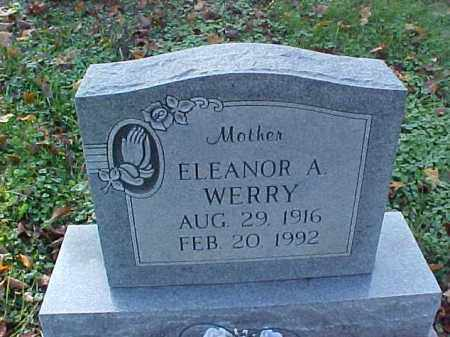 WERRY, ELEANORA A. - Meigs County, Ohio | ELEANORA A. WERRY - Ohio Gravestone Photos