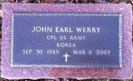 WERRY, JOHN - Meigs County, Ohio | JOHN WERRY - Ohio Gravestone Photos
