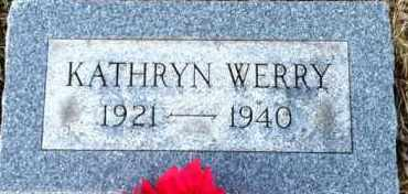 WERRY, KATHRYN - Meigs County, Ohio | KATHRYN WERRY - Ohio Gravestone Photos
