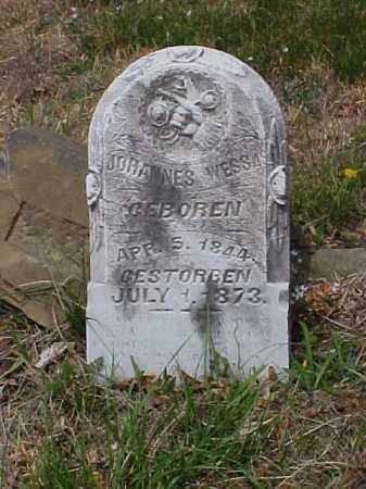 WESSA, JOHANNES - Meigs County, Ohio   JOHANNES WESSA - Ohio Gravestone Photos