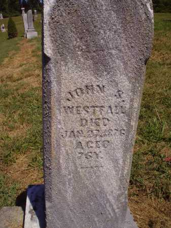 WESTFALL, JOHN S. - CLOSE VIEW - Meigs County, Ohio | JOHN S. - CLOSE VIEW WESTFALL - Ohio Gravestone Photos