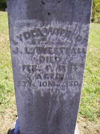 WESTFALL, LYDIA - CLOSE VIEW - Meigs County, Ohio | LYDIA - CLOSE VIEW WESTFALL - Ohio Gravestone Photos