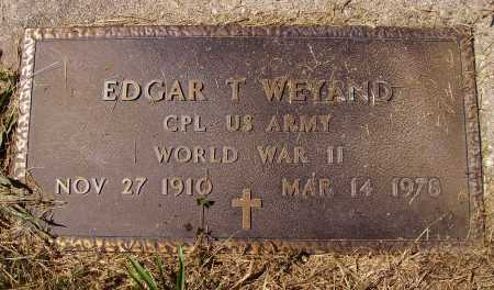 WEYAND, EDGAR T. - Meigs County, Ohio | EDGAR T. WEYAND - Ohio Gravestone Photos