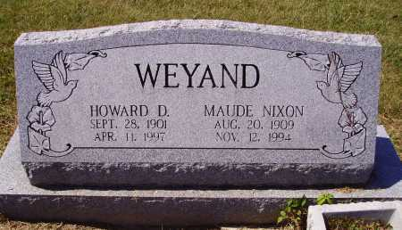 WEYAND, HOWARD D. - Meigs County, Ohio | HOWARD D. WEYAND - Ohio Gravestone Photos