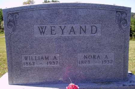 WEYAND, NORA A. - Meigs County, Ohio | NORA A. WEYAND - Ohio Gravestone Photos