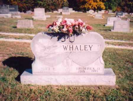 WHALEY, FREDERICK O. - Meigs County, Ohio | FREDERICK O. WHALEY - Ohio Gravestone Photos