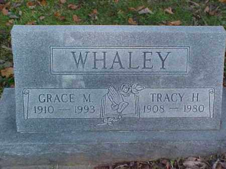 WHALEY, TRACY H. - Meigs County, Ohio | TRACY H. WHALEY - Ohio Gravestone Photos