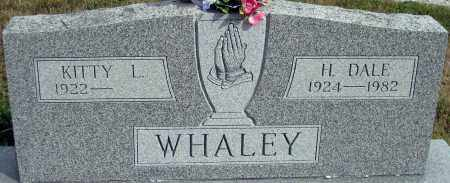WHALEY, H. DALE - Meigs County, Ohio | H. DALE WHALEY - Ohio Gravestone Photos