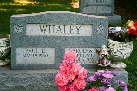 WHALEY, PAUL L. - Meigs County, Ohio | PAUL L. WHALEY - Ohio Gravestone Photos