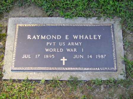 WHALEY, RAYMOND E. - Meigs County, Ohio | RAYMOND E. WHALEY - Ohio Gravestone Photos