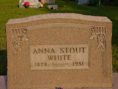STOUT WHITE, ANNA - Meigs County, Ohio | ANNA STOUT WHITE - Ohio Gravestone Photos