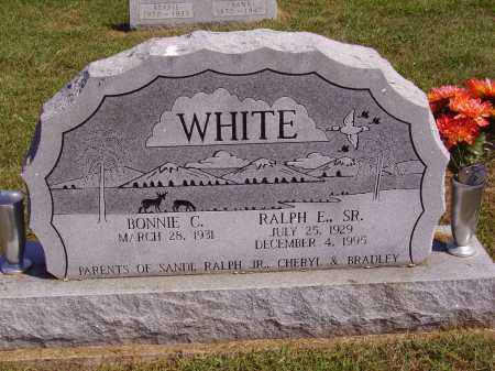 WHITE, RALPH E., SR. - Meigs County, Ohio | RALPH E., SR. WHITE - Ohio Gravestone Photos