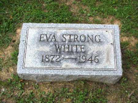 STRONG WHITE, EVA - Meigs County, Ohio | EVA STRONG WHITE - Ohio Gravestone Photos
