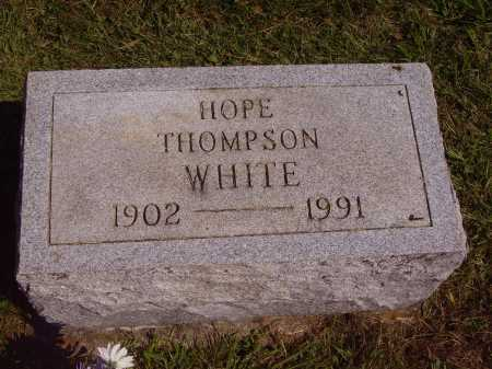WHITE, HOPE - Meigs County, Ohio | HOPE WHITE - Ohio Gravestone Photos