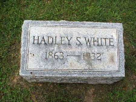 WHITE, HADLEY S. - Meigs County, Ohio | HADLEY S. WHITE - Ohio Gravestone Photos