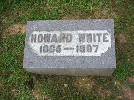 WHITE, HOWARD - Meigs County, Ohio | HOWARD WHITE - Ohio Gravestone Photos