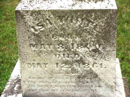 WHITE, ISA - Meigs County, Ohio | ISA WHITE - Ohio Gravestone Photos