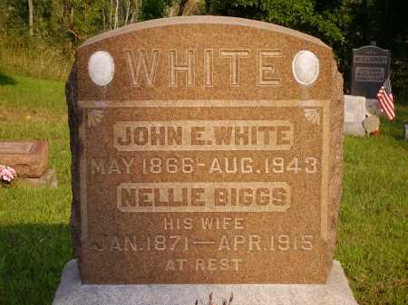 WHITE, JOHN E. - Meigs County, Ohio | JOHN E. WHITE - Ohio Gravestone Photos