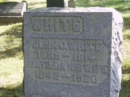 WHITE, JOHN J. - Meigs County, Ohio | JOHN J. WHITE - Ohio Gravestone Photos