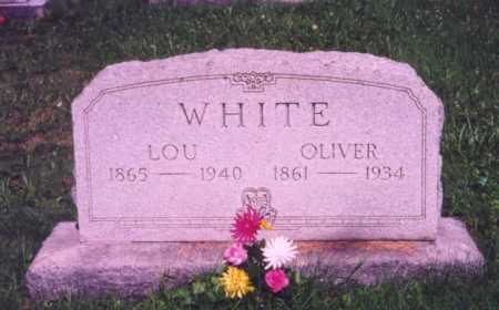 WHITE, LOU - Meigs County, Ohio | LOU WHITE - Ohio Gravestone Photos