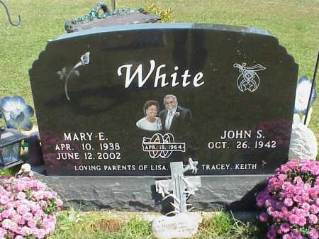 WHITE, MARY E. - Meigs County, Ohio | MARY E. WHITE - Ohio Gravestone Photos