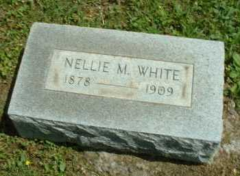 WHITE, NELLIE M. - Meigs County, Ohio | NELLIE M. WHITE - Ohio Gravestone Photos