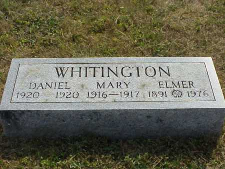WHITINGTON, DANIEL - Meigs County, Ohio | DANIEL WHITINGTON - Ohio Gravestone Photos