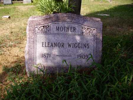 WIGGINS, ELEANOR - Meigs County, Ohio | ELEANOR WIGGINS - Ohio Gravestone Photos